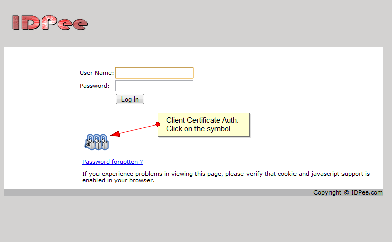 X.509 certificate authentication
